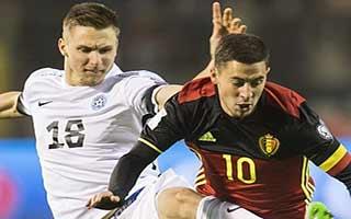 Belgium vs Estonia