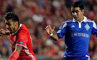 Benfica vs Dynamo Kyiv