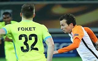 Gent vs Shakhtar Donetsk