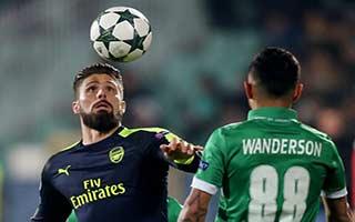 Ludogorets Razgrad vs Arsenal
