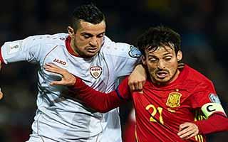 Spain vs FYR Macedonia