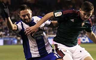 Deportivo La Coruna vs Osasuna
