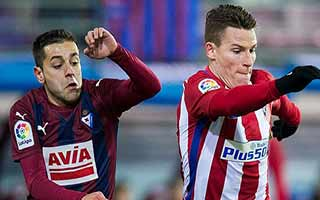 Eibar vs Atletico Madrid