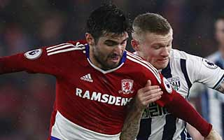 Middlesbrough vs West Bromwich Albion