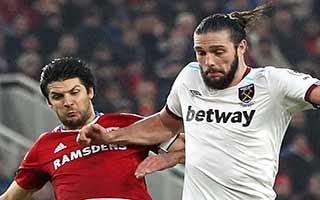 Middlesbrough vs West Ham United