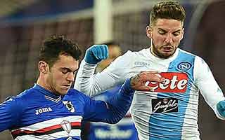 Napoli vs Sampdoria