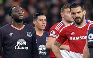 Middlesbrough vs Everton