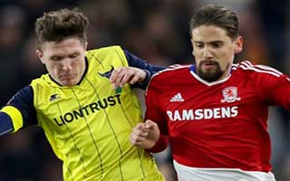 Middlesbrough vs Oxford United