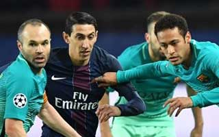 Paris Saint-Germain vs Barcelona