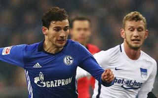 Schalke vs Hertha Berlin