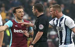 West Ham United vs West Bromwich Albion