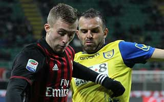 AC Milan vs Chievo