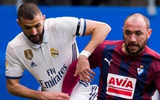 Eibar vs Real Madrid