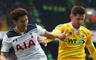 Tottenham Hotspur vs Millwall