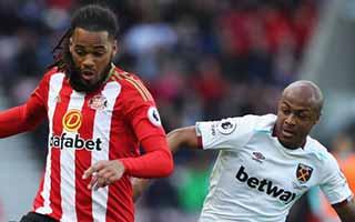Sunderland vs West Ham United