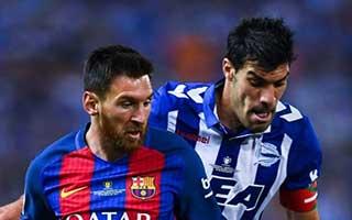 Barcelona vs Alaves