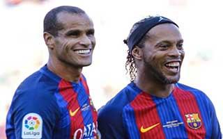 Barcelona Legends vs Manchester United Legends