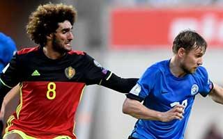 Estonia vs Belgium
