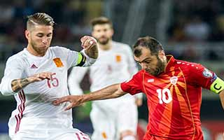 FYR Macedonia vs Spain