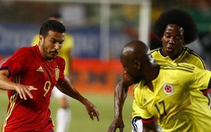 Spain vs Colombia