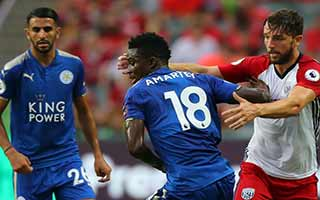 Leicester City vs West Bromwich Albion