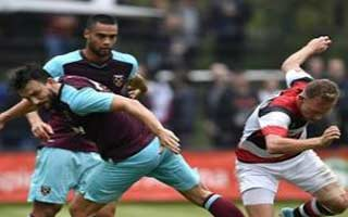 Altonaer FC 93 vs West Ham United
