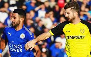 Burton Albion vs Leicester City
