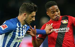 Hertha Berlin vs Bayer Leverkusen