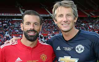 Manchester United Legends vs Barcelona Legends
