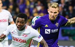 Maribor vs Spartak Moscow