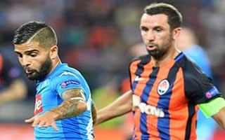 Shakhtar Donetsk vs Napoli