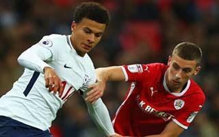 Tottenham Hotspur vs Barnsley