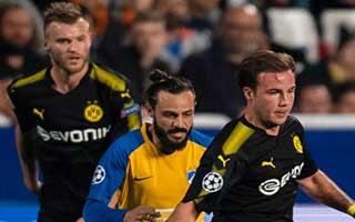 APOEL Nicosia vs Borussia Dortmund