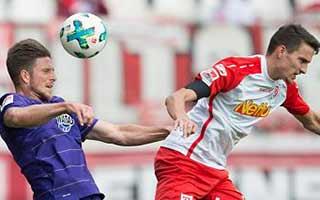 Erzgebirge Aue vs Jahn Regensburg