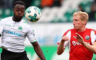 Greuther Furth vs Sandhausen