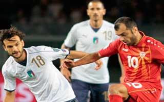 Italy vs FYR Macedonia