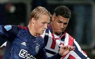 Willem II vs Ajax
