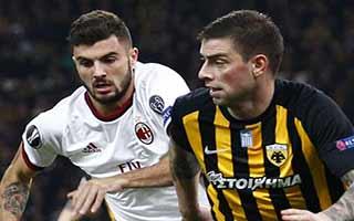 AEK Athens vs AC Milan