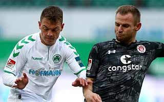 Greuther Furth vs St. Pauli