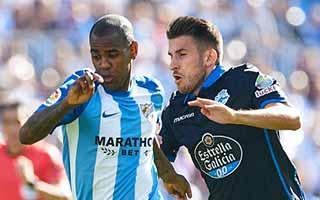 Malaga vs Deportivo La Coruna