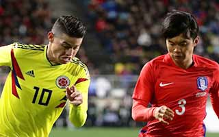 South Korea vs Colombia