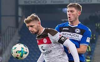 Arminia Bielefeld vs St. Pauli