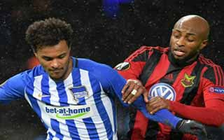Hertha Berlin vs Oestersunds FK