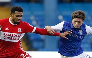 Sheffield Wednesday vs Middlesbrough