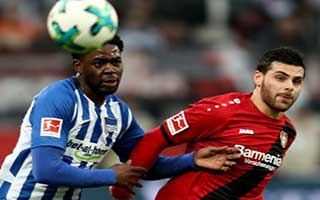 Bayer Leverkusen vs Hertha Berlin