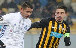 Dynamo Kyiv vs AEK Athens