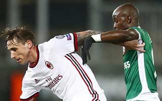 Ludogorets Razgrad vs AC Milan