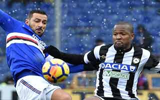 Sampdoria vs Udinese