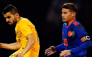 Australia vs Colombia