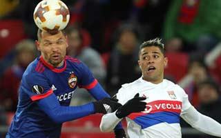 CSKA Moscow vs Lyon